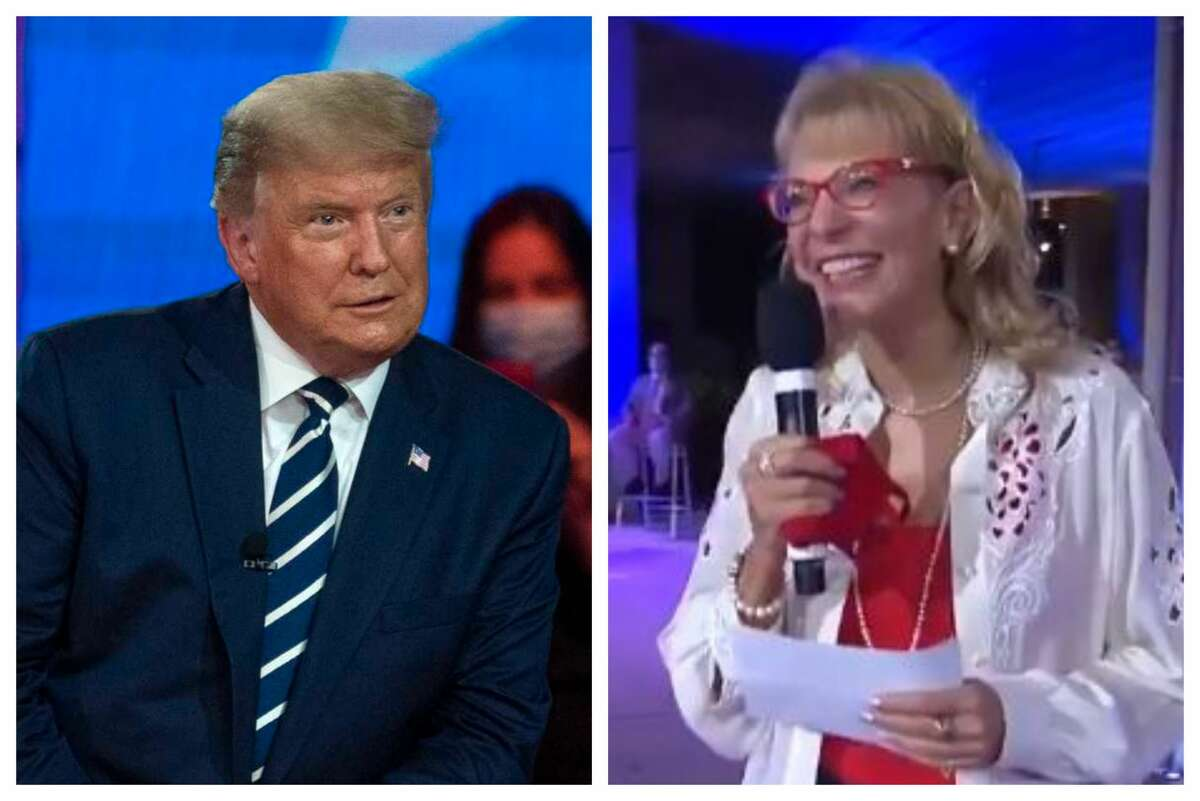 Former Miami Dade College professor Paulette Dale paid the president a compliment at his Thursday night town hall. But she won't be pulling the lever for him in November, Dale says.