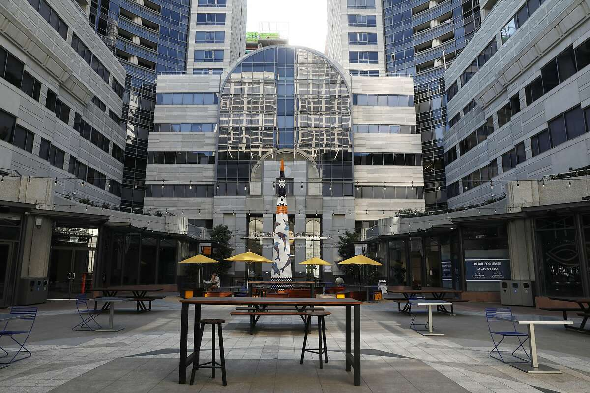 The lease is a rare positive sign in San Francisco's battered market for office space.