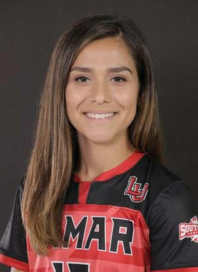 Lamar sophomore midfielder Paloma Martinez. Photo: Photo Provided By LU Athletics.