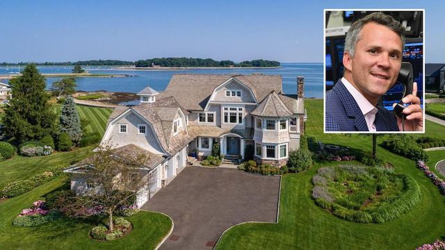 Former NHL All-Star Martin St. Louis Selling $16M Waterfront Connecticut Estate thumbnail