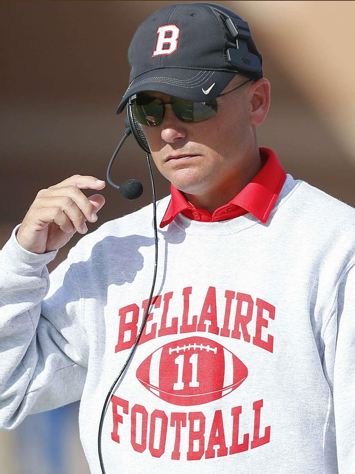 Bellaire head football coach Herb Kunz.
