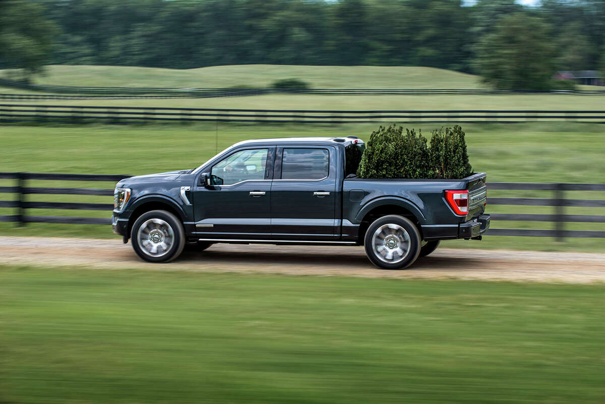 Crew cabs are hugely popular with pickup buyers. The 2021 F-150 SuperCrew with 5.5-foot bed is 231.7 inches long.