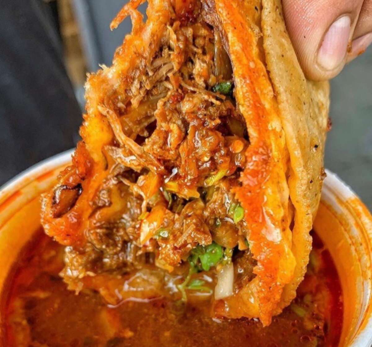Birria is a spicy meat stew dish usually made with beef, lamb or goat. It's served with a side of broth from the stew kettle for dipping. Meredith Avila said their meat will be beef that comes from Tijuana, Mexico.