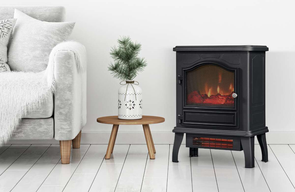ChimneyFree Infrared Quartz Electric Stove Heater, $73