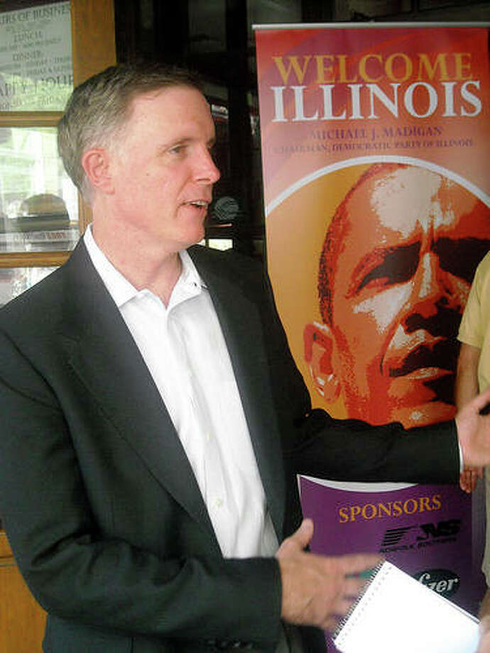 """Illinois Deputy Gov. Dan Hynes is shown in this file photo. The Better Government Association has obtained emails showing the state was not prepared for the flood of unemployment claims made during the pandemic. Hynes said IDES worked hard """"under incredible stress"""" to pay out a staggering $14.2 billion in benefits to an unprecedented 2.1 million Illinois claimants from March through August."""