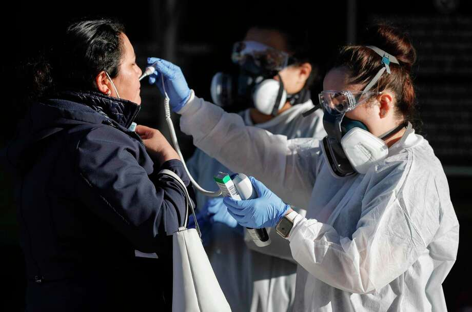 Montgomery County logged 81 new COVID-19 cases on Friday while adding 24 to its active case total, according to public health officials. Photo: Jason Fochtman, Houston Chronicle / Staff Photographer / 2020 © Houston Chronicle
