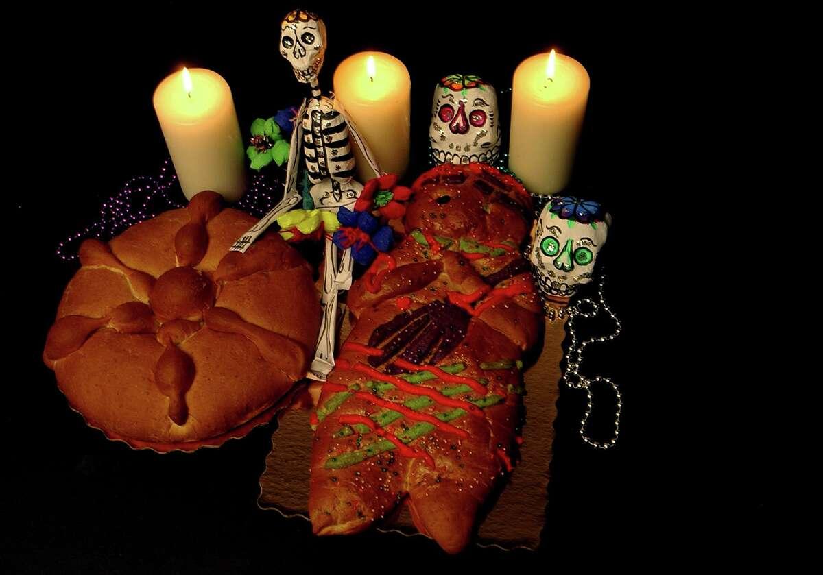 Pan de muerto has started appearing at panaderías across San Antonio to mark Día de los Muertos.