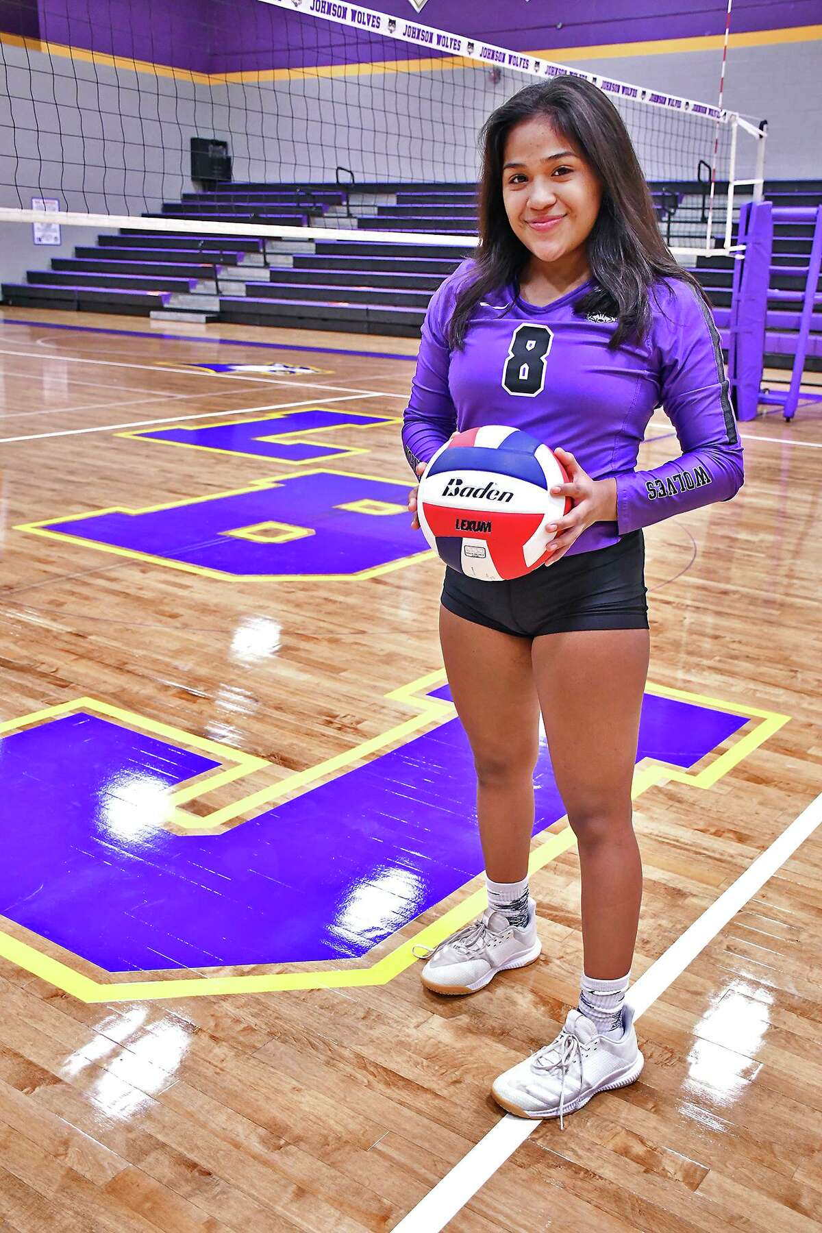 Marianna Gamboa, who was LBJ's water girl in fifth grade, has earned a starting spot in her freshman year.