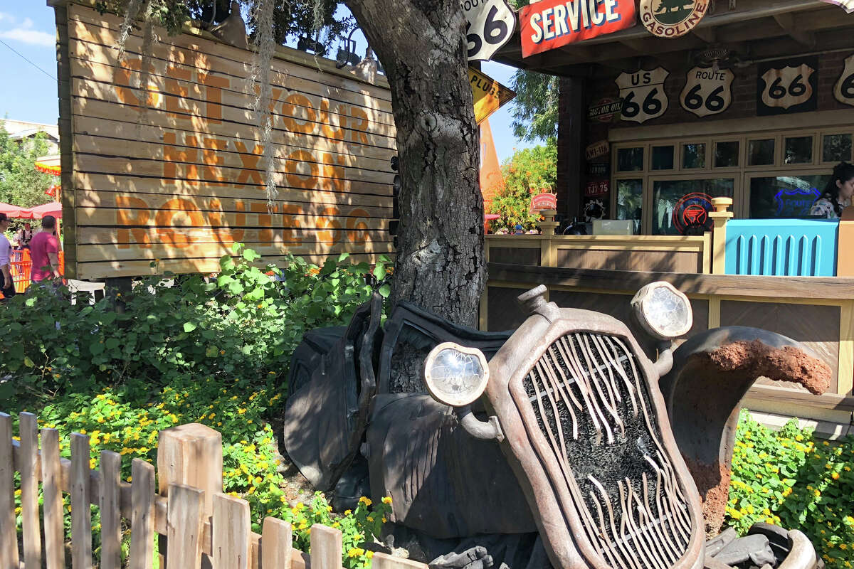 Cars Land in Disney's California Adventure gets a festive makeover in the fall.