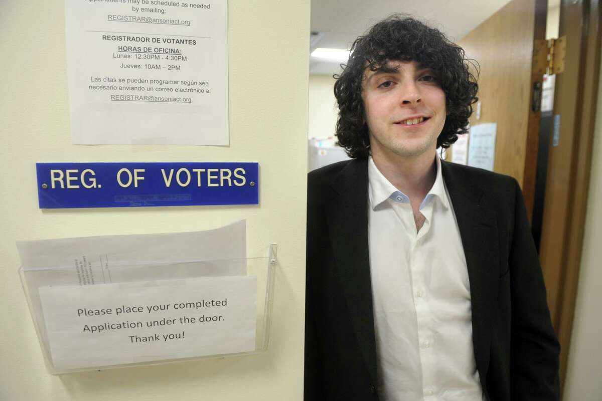 David Papcin, a practicing nurse who doubles as Ansonia's Republican Registrar of Voters has implement a number of safe practice protocals which will be in place at the city's polling places on Election Day.