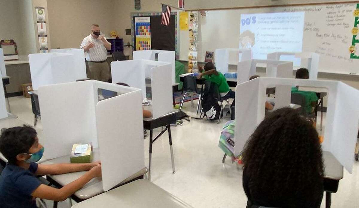 When Alvin Independent School District's second six-week grading period begins Oct. 19, the number of students in face-to-face instruction will be over 2,200 more than during the first grading period.
