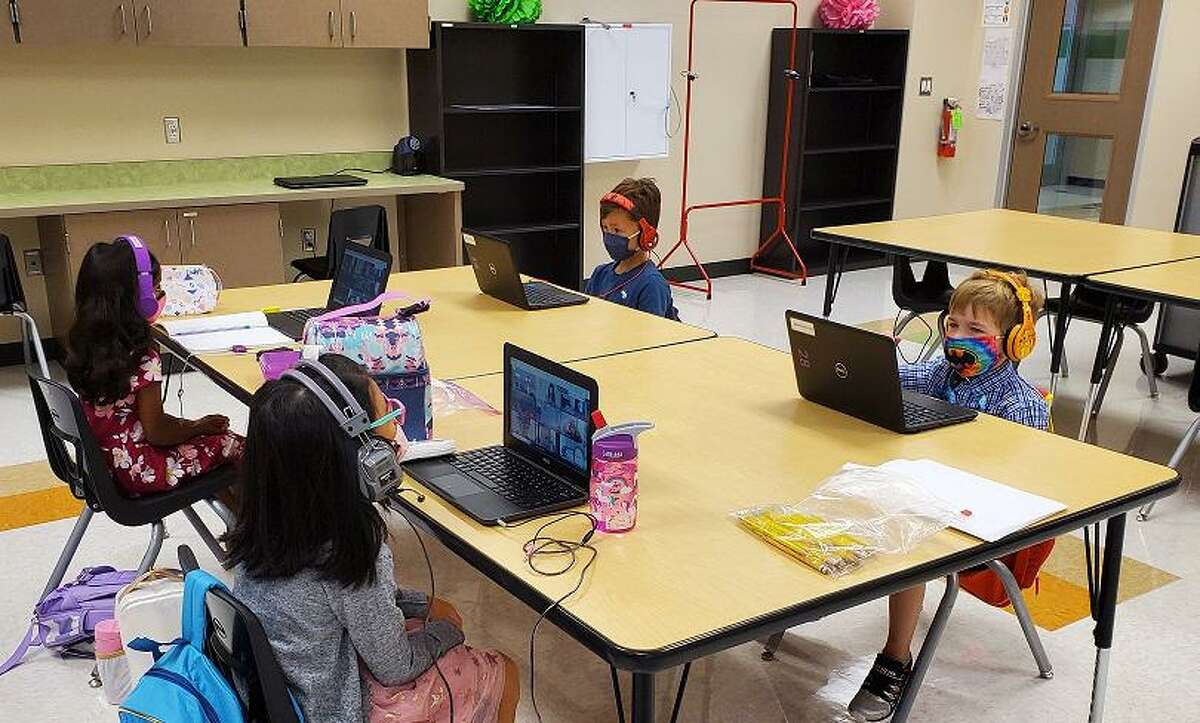 Alvin ISD has seen a shift of more students opting to attend school in-person.
