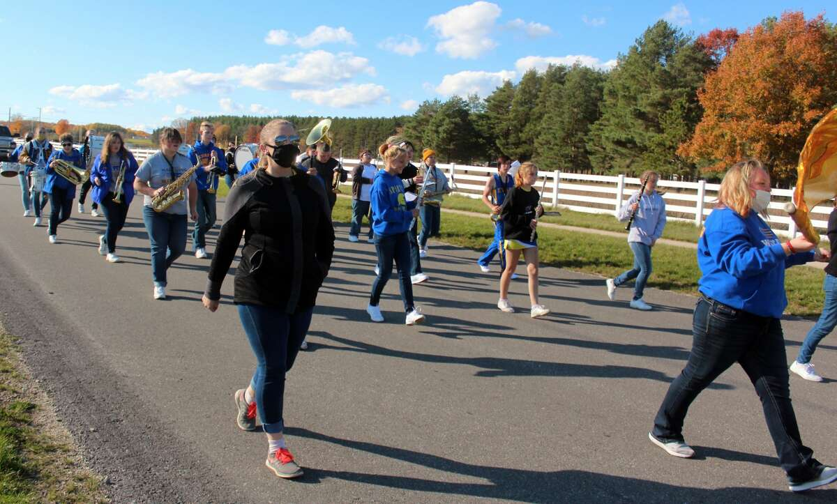 Evart High School, in true Wildcat spirit, hosted its annual Homecoming parade Friday afternoon. The parade featured Homecoming courts, the district's football teams and much more.