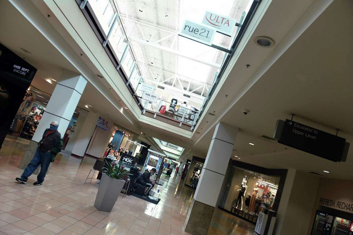 The lower level of the Connecticut Post Mall in Milford on October 14, 2020.