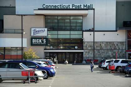 The Connecticut Post Mall in Milford on Oct. 14, 2020.