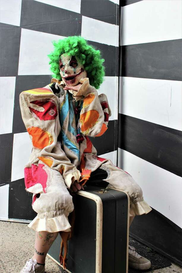 "Epoch Arts is offering a safe theatrical Halloween trail event, ""Freak Show."" Epoch staff and alumni will perform a show of oddities and strange creatures. The ringmaster will lead visitors down a trail showcasing different characters. The event is almost entirely outdoors except for a short walk inside the building. Groups will be kept to five people each. Tickets are $10 and the show continues Oct. 24, Oct. 30 and 31, 7-10 p.m., rain or shine. Guests are encouraged to come in costume, have their photo taken and be posted in a virtual gallery. Epoch Arts is located at 27 Skinner St., East Hampton. For information, go to epocharts.org. Photo: Contributed Photo"