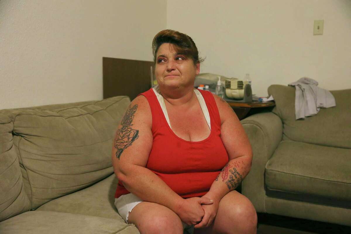 Janice Powell is hoping to get rental assistance so she and her mother won't be evicted during the coronavirus pandemic.