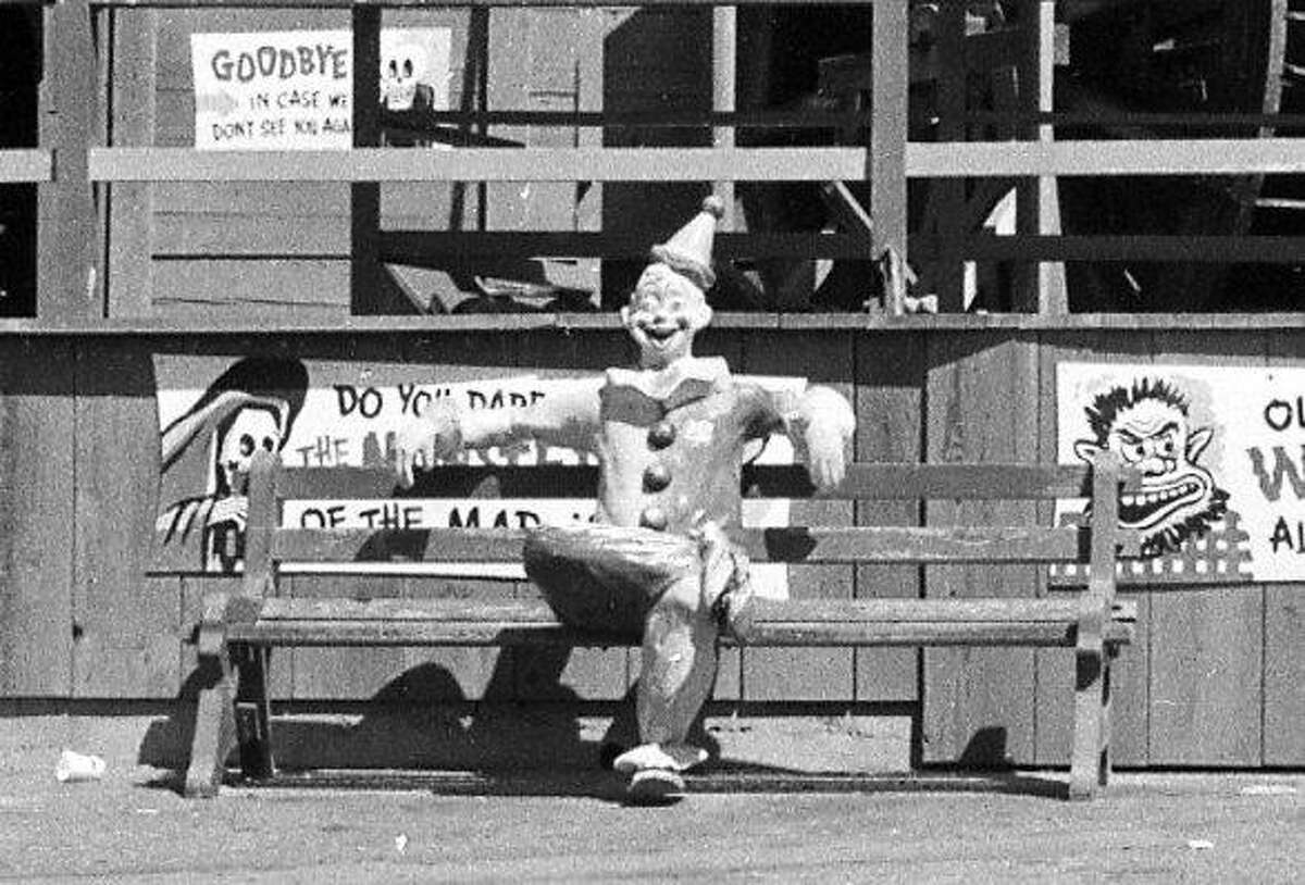 Aug. 17, 1972: A photo taken on the last day of operation at Playland-at-the-Beach, before it was demolished in 1972.