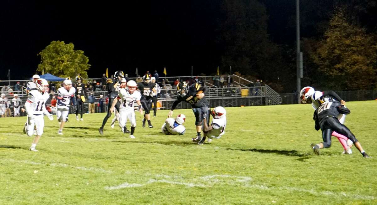 On Friday night in Howard City, the Big Rapids football team beat Tri County 29-22 in overtime.