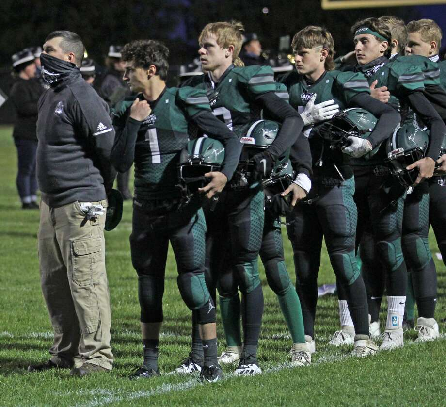 Laker High School is in search of a new head coach for its varsity football team. Photo: Mark Birdsall/Huron Daily Tribune
