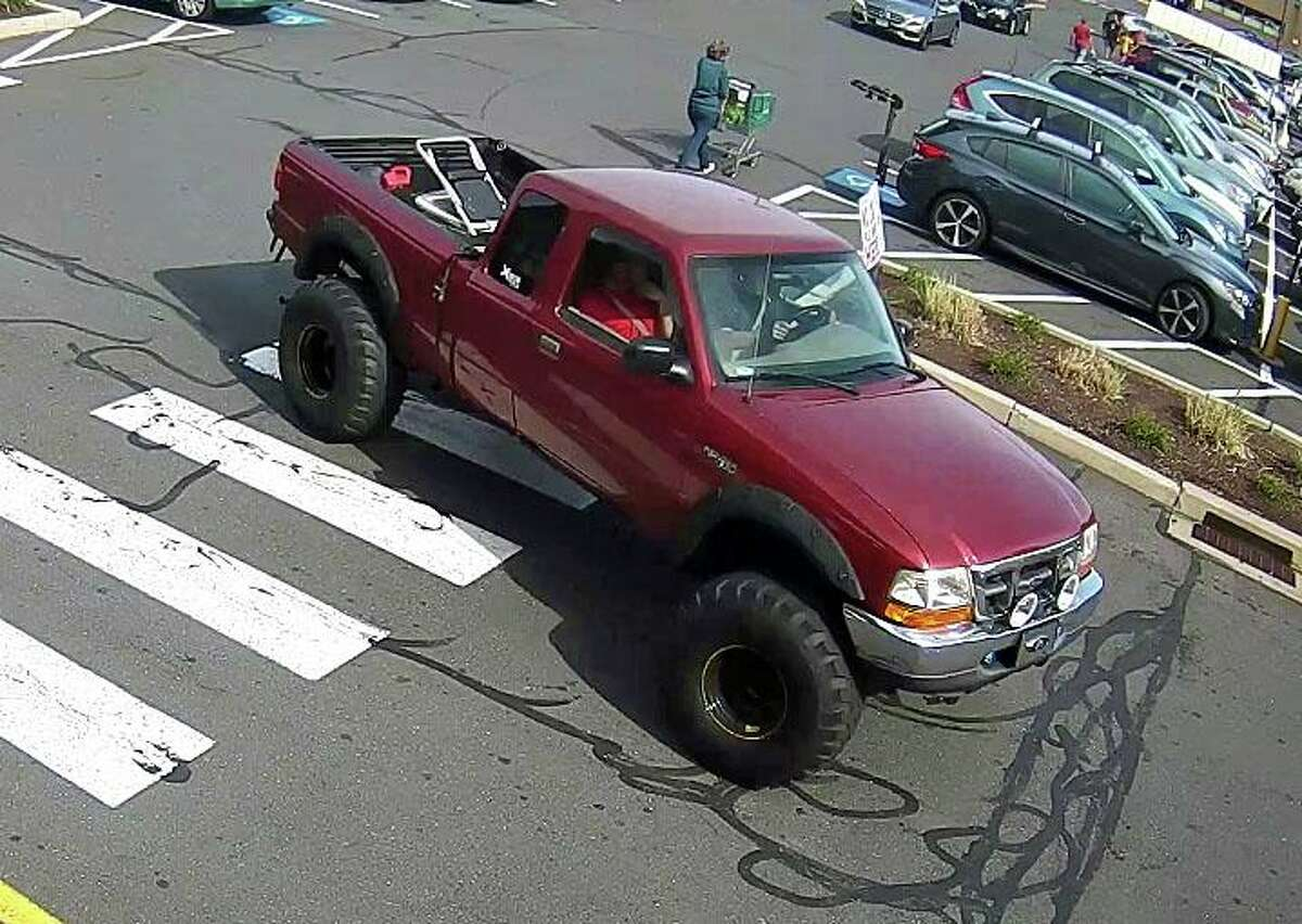 Naugatuck police have released a series of photos of two suspects who stole more than 30 packs of beer and cases of energy drinks from the Big Y World Class Market. Police said the thefts at the Bridge Street store was made on three different days on Oct. 11, 12 and 14, 2020. A red truck and a white vehicle were used during the course of these different thefts,