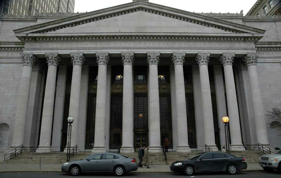The Federal Courthouse, at 141 Church Street in New Haven. Photo: File Photo / Connecticut Post
