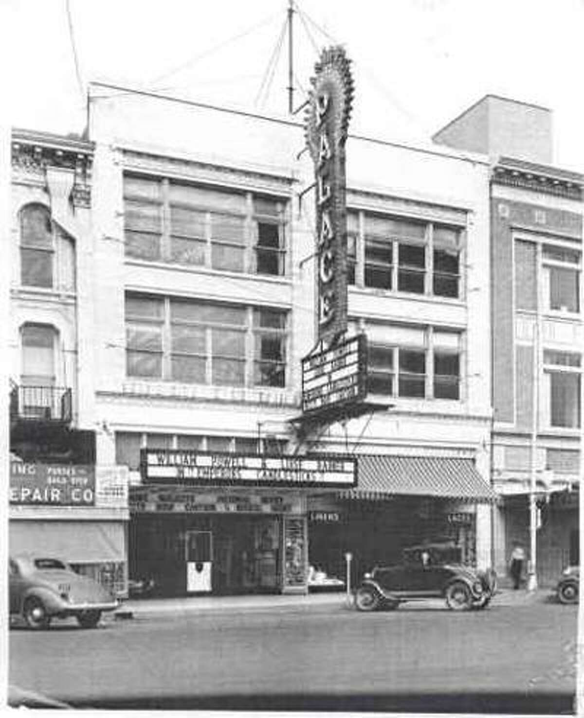 The Palace Theater opened in 1923 but was torn down in 1954.