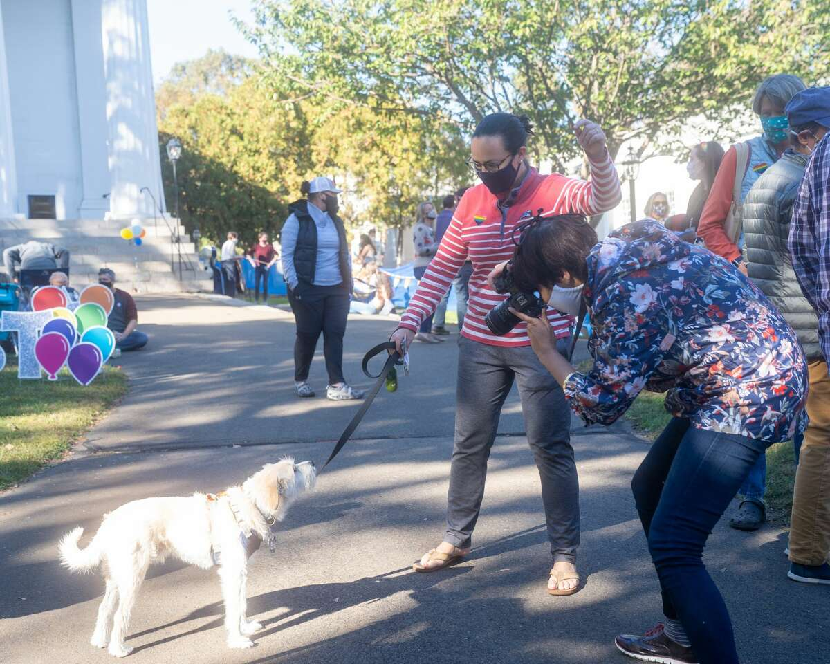Madison held its first-ever Pride Fest on the Madison Town Green October 17, 2020. Were you SEEN?