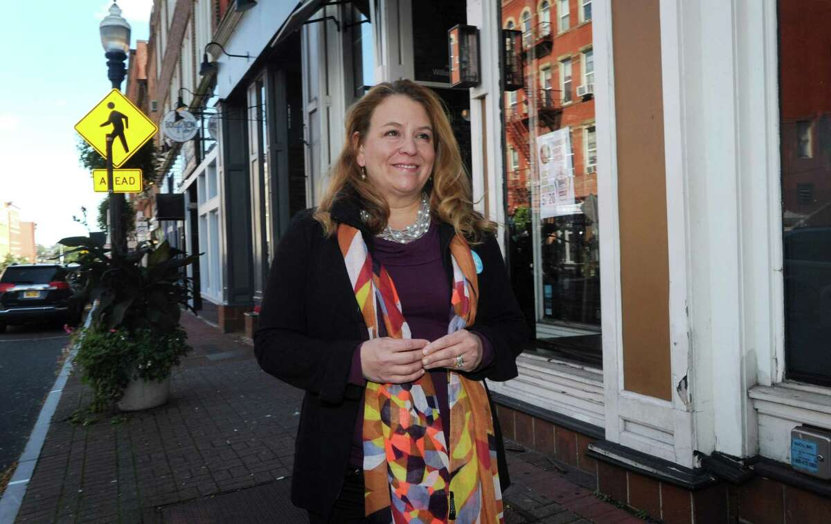 Incumbent Democratic Candidate for Connecticut's 142nd District House seat, Lucy Dathan, poses for a photo during a previous fall season. This letter writer tells about what she feels choosing Dathan for the upcoming election, November 3, means overall.
