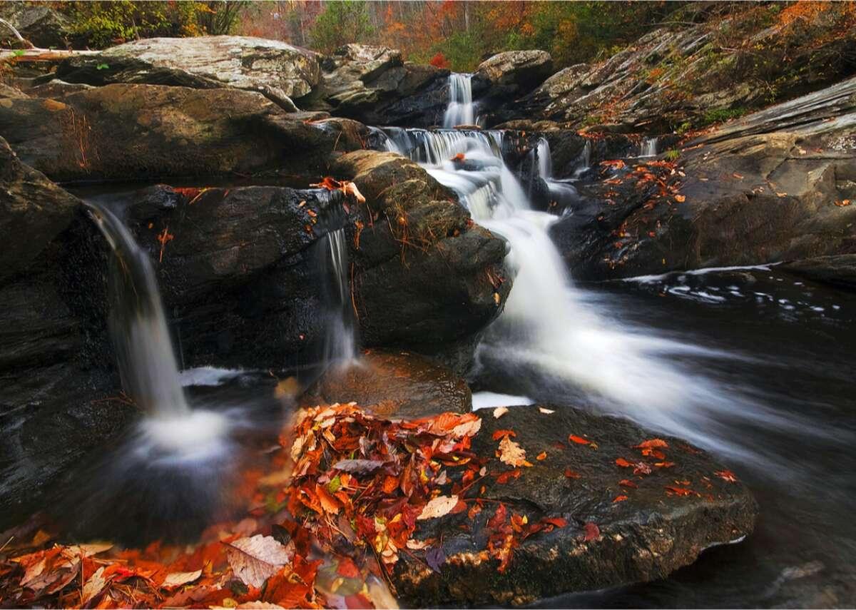 Bankhead National Forest, Alabama Parker Falls in Alabama's Bankhead National Forest.