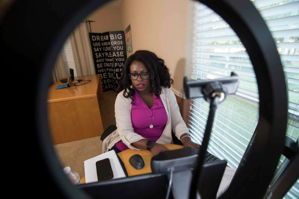 JeNae Johnson, president and CEO of CTM Unlimited, runs a company that provides programs to help workplaces change their corporate culture from her home office. After George Floyd's death, she refocused her company to focus on helping companies be more inclusive. Her company is closing on a contract with GE worth between $50,000 and $70,000.
