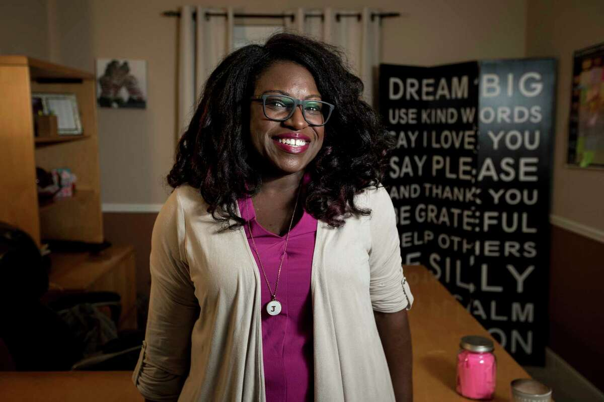 JeNae Johnson, president and CEO of CTM Unlimited, runs a company that provides programs to help workplaces change their corporate culture from her home office. Her company is closing on a contract with GE worth between $50,000 and $70,000.