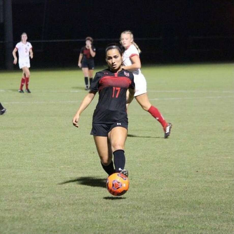 Paloma Martinez, one of Lamar University's top soccer players, will soon train with the Under-20 Mexican National Team. Photo: Photo Provided By Lamar Universi
