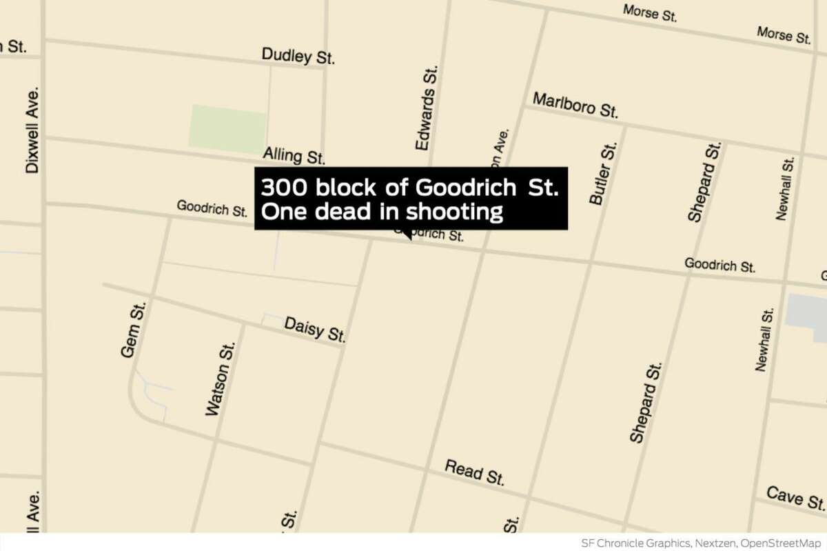 One person is dead and another was wounded after a shooting in the 300 block of Goodrich Street in Hamden on Saturday night, Oct. 17.