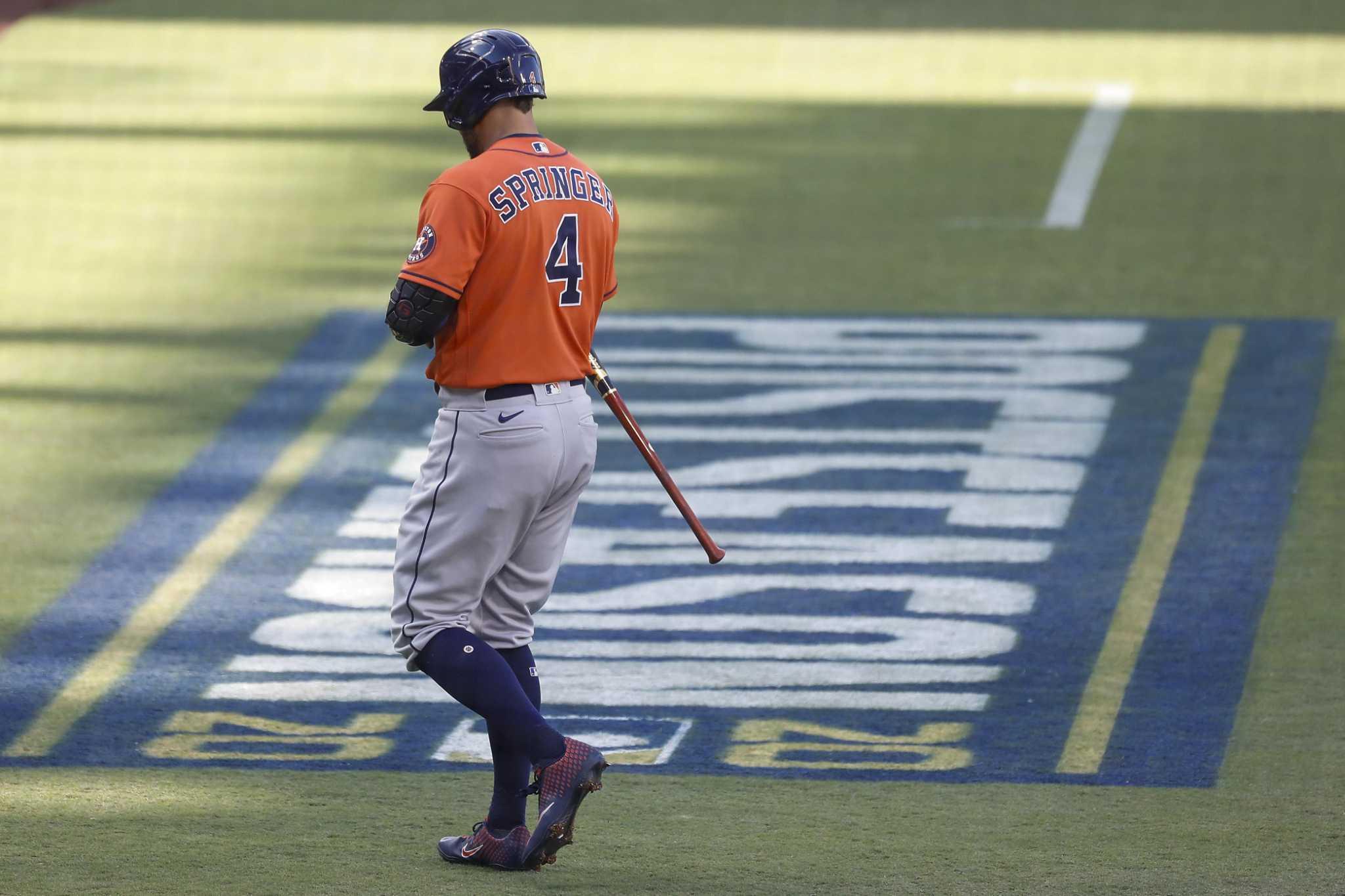 Can Astros afford to let George Springer walk?