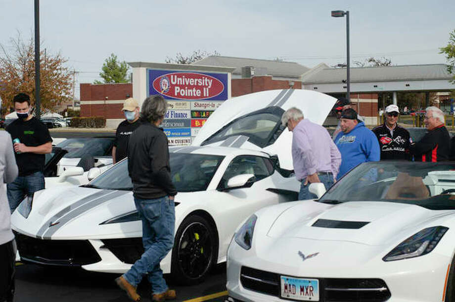 Kicks on 66 Ultra Car Show and Cruise Saturday boasted 16 home bases, or meeting spots, around Edwardsville and Glen Carbon. Each location hosted specific car clubs from Mustangs or Corvettes to European cars or rat rods. Photo: Matt Winte | For The Intelligencer