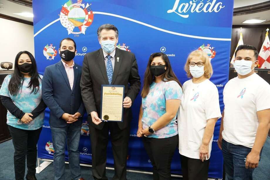 The City of Laredo presented a virtual proclamation Thursday, Oct. 15 declaring October as National Pregnancy and Infant Loss Remembrance Month. Photo: Courtesy /City Of Laredo