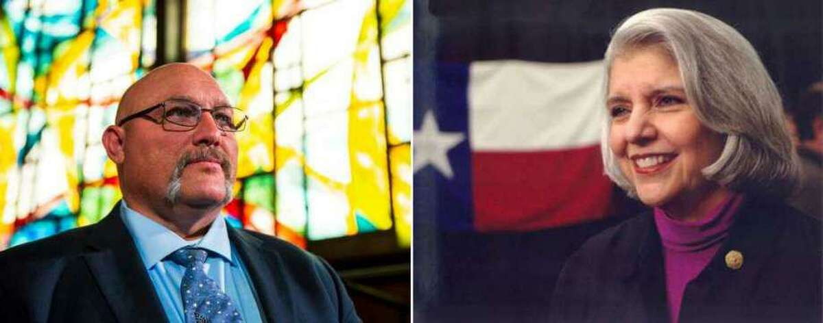Pastor Frank Pomeroy has provided $200 toward finding who vandalized the campaign headquarters of Texas Senator Judith Zaffirini, his opponent in the upcoming election.