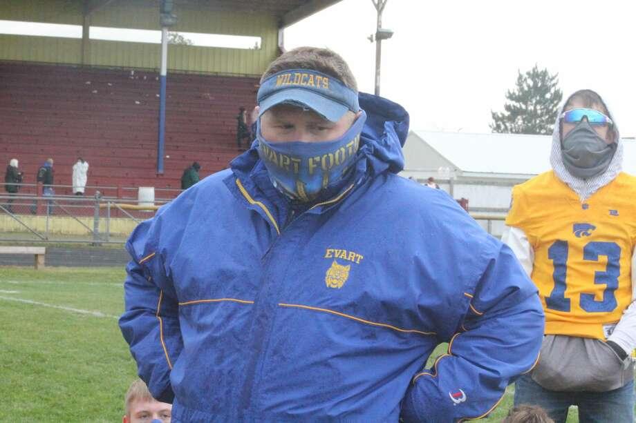 It was a big homecoming football win for Evart, 55-12, on Saturday Photo: John Raffel