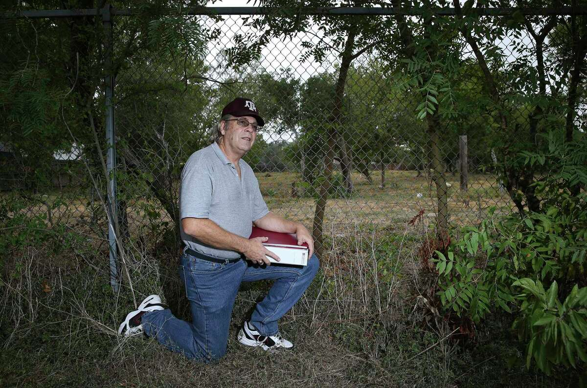 Retired Air Force Maj. J. Michael Wright's investigation into an overgrown lot in his Northeast Side neighborhood helped bring a long-lost African American cemetery to light.