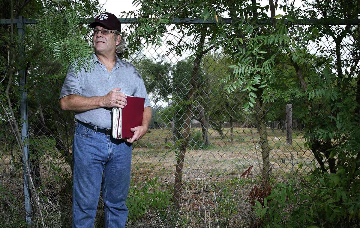 With Wright's help, the site has been cleared of overgrown brush and researched by historians.