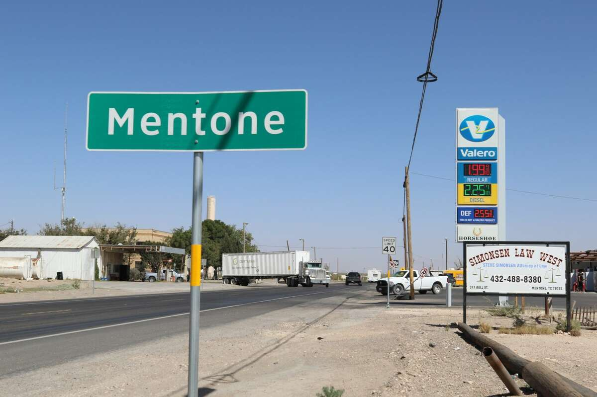 Mentone is in Loving County, one of the U.S.' least populated with about 170 residents. It also is one of Texas' smallest counties, spanning about 670 square miles.
