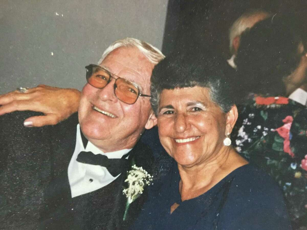 Former Bridgeport Mayor Mary Moran and husband Stephen Moran will celebrate 60 years of marriage on Friday, Oct. 23. Mary served as Bridgeport's first elected female mayor from 1989-1991 and Stephen is a U.S. Navy veteran who is currently retired from Airborne Express after 15 years. The Morans relocated to Trumbull in 1995, and Mary then served for 10 years on the Trumbull Police Commission and five years as Trumbull's tax collector. They have three children and four grandchildren. A family dinner celebrating the occasion took place at a local restaurant. Pictured with the bride and groom are best man Charles Moran, Stephen's brother, and maid of honor Stella Chapar, Mary's sister-in-law.