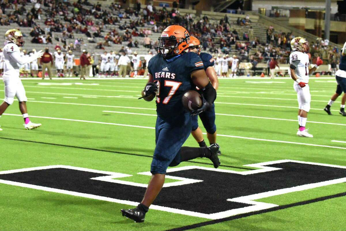 Bridgeland defeated Cy Woods 35-28 in District 16-6A to stay undefeated Friday, Oct. 16, at Cy-Fair FCU Stadium.