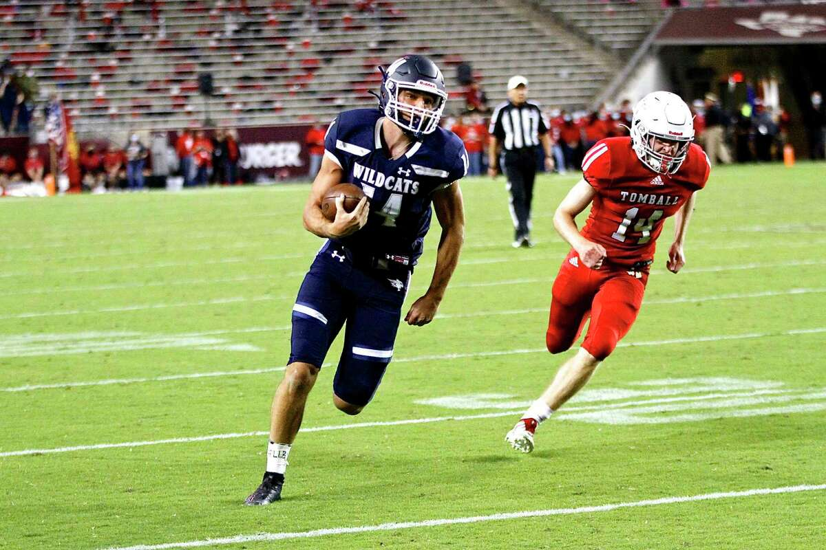 Tomball Memorial defeated Tomball 60-32 in District 15-6A to remain perfect Friday, Oct. 16, at Kyle Field in College Station.