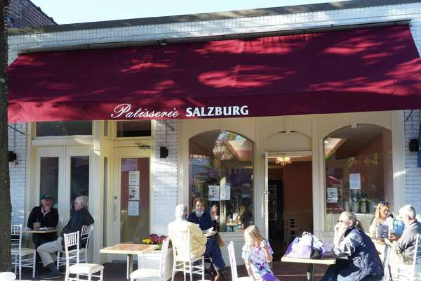 Patisserie Salzburg is a new eatery on Elm Street in New Canaan. This picture was taken Oct. 15, 2020.