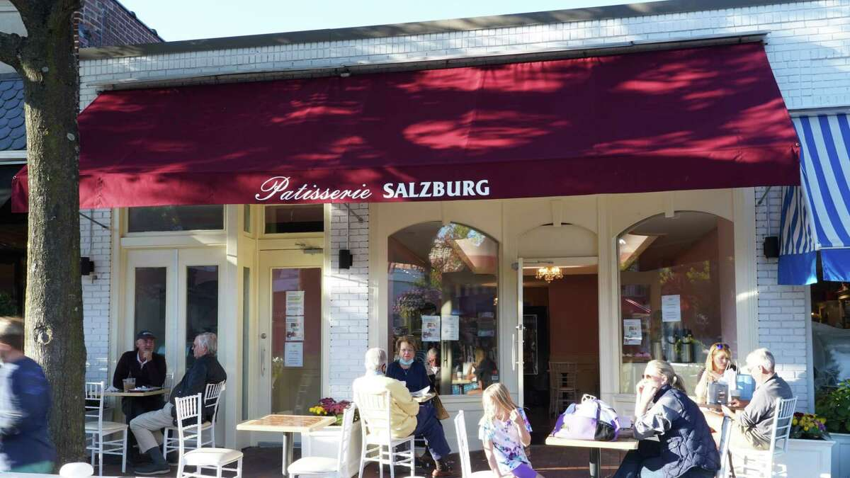 Patisserie Salzburg is a new eatery on Elm Street in New Canaan. This picture was taken Oct. 15, 2020. Stamford had the most new businesses registered, with 1,228 in the 11 months between January and December. Bridgeport was not far behind, with 1,220 new businesses As for exactly how many businesses closed their doors during the course of the pandemic, it's almost impossible to get an exact number. Every new business needs to register, and though businesses that are ceasing operation are supposed to let the state know, they don't always do so with alacrity.