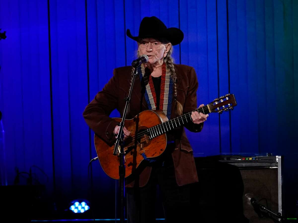 Willie Nelson performs onstage during the 53rd annual CMA Awards at the Bridgestone Arena.