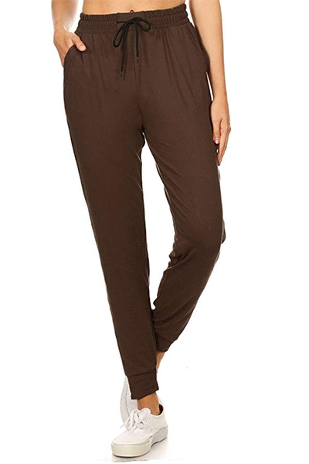 1) Solid Jogger Track Pants with Pockets: $14.99 Shop Now Available in a slew of different colors, these joggers have over 5,000 reviews on Amazon. Customers note that they are soft, comfortable, and best of all, super affordable.