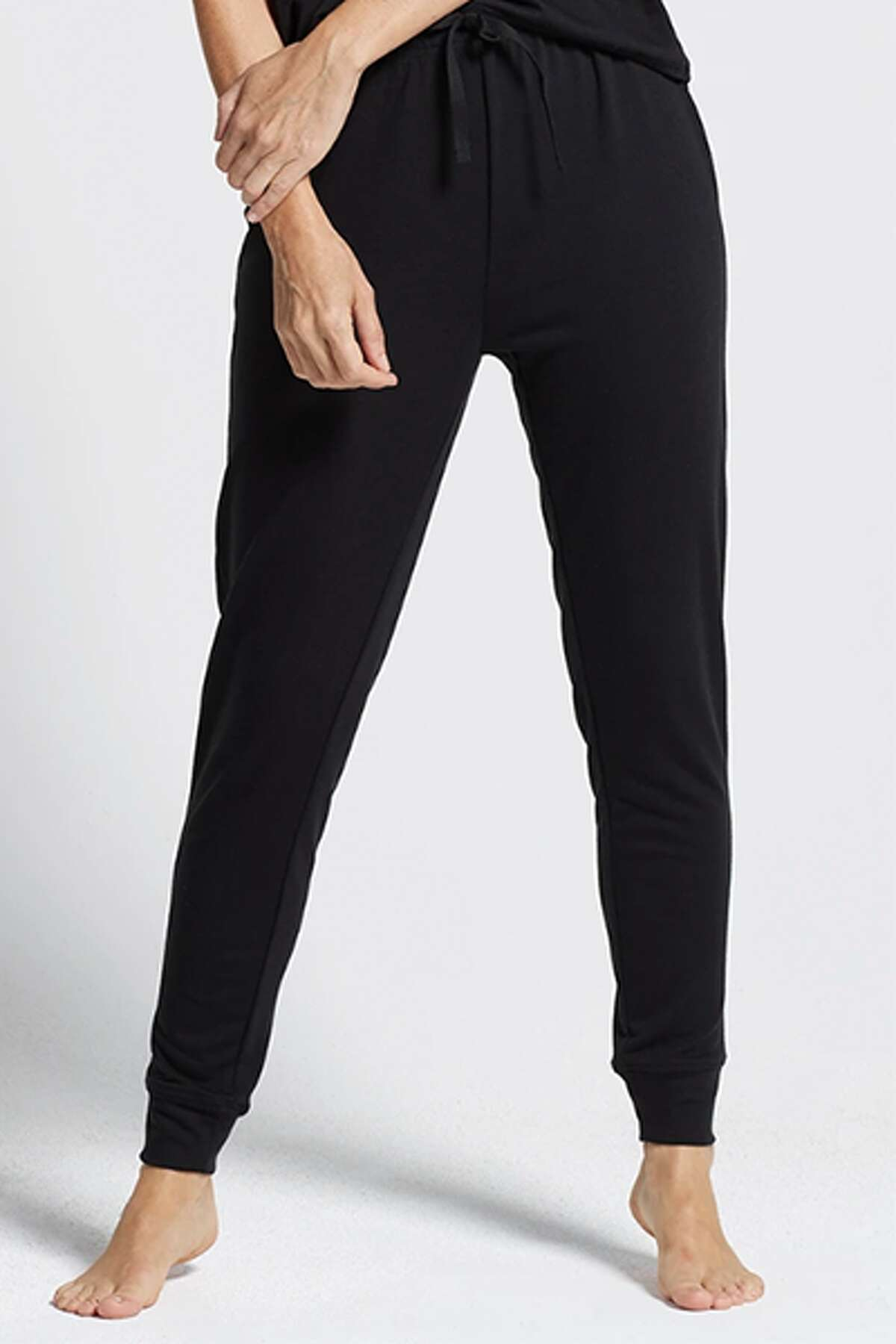 2) Baby French Terry Slim Leg Jogger: $42.00 Shop Now This pair comes highly recommended from one of our fashion editors, who says they are the perfect pair of everyday sweatpants. Reviewers online note they are true to size and feel as soft as butter!